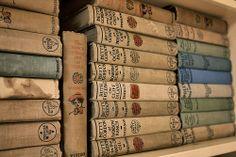 Vintage books! Photo courtesy of John Beatty.