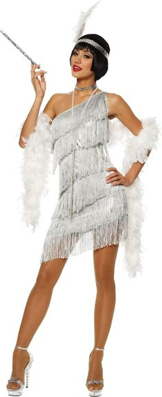 Dazzling Flapper Costume for Women - Party City