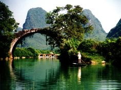 yulong river - China of old scroll paintings