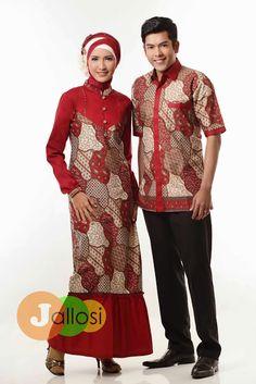 Model Desain Baju Batik Couple Casual dan Modern