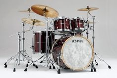#Tama Star #Drums in Dark Red Cordia  finish!