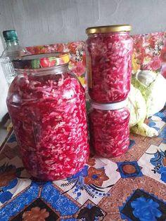 Sfeclă roșie cu hrean 20 Min, Mason Jars, Recipes, Salads, Recipies, Mason Jar, Ripped Recipes, Cooking Recipes, Glass Jars