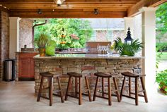 70 Awesomely clever ideas for outdoor kitchen designs