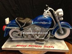 Davidson Harley Adult Birthday Cake | 3D Harley Davidson - by lilywu7239 @ CakesDecor.com - cake decorating ...