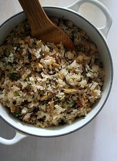 Clam Rice #Sushi #Sushimi