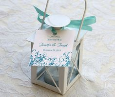 Favor Tag and boxes