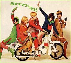 mod fashions, 1960s