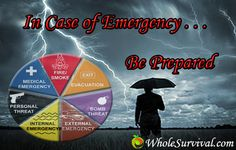 Chances Of Emergencies Occurring Over Our Lifetimes. Click Here To See Why We Prepare: http://www.wholesurvival.com/7-chances-of-emergencies