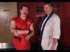 Enter The Dojo - How to Fight with a Broken Leg #MasterKen #McDojo www.Facebook.com/McDojoLife