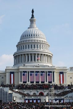 Washington, DC - I want to go there for an inauguration celebration someday. Wish we were there today!