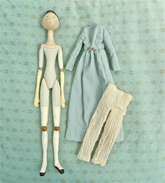 regency doll and clothes by SUSANNAH DASHWOOD, via Flickr