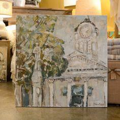 Sarah Robertson Art - Lafeyette County Courthouse {Bella Vita   Collierville, TN}