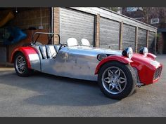 Caterham Super 7, Caterham Seven, Lotus Sports Car, Lotus 7, Thing 1, Classic Sports Cars, Cabriolet, Kit Cars, Race Cars