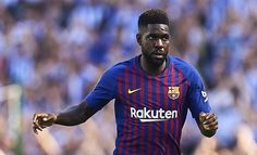 Umtiti in Barcelona squad to face former club Lyon Psg, Neymar, Muscle Problems, Manchester United Fans, Nigerian Music Videos, Latest Music Videos, Camp Nou, Lineman, Entryway