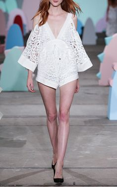Keep Me There Playsuit by Alice McCall for Preorder on Moda Operandi