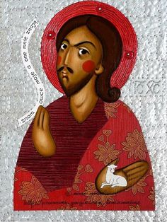 Jesus Christ icon by Anna Makac