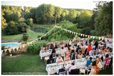 Wedding at Chateau de Lisse, France | Jessica Blaine Smith