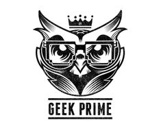 Another good example of using simple black and white to create a striking logo. the eyes are very well done and have a piercing quality to them.