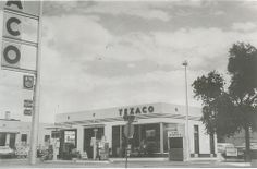 Texaco Service Station at 2100 Central SE, Albuquerque, NM Jan. 1970   Sweet Picture!  Have a look at at all these great signs I found to add to your home all starting at a penny!  Just Click the photo above:  http://stores.ebay.com/clockworkalpha/