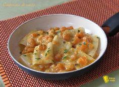 Carbonara di zucca, ricetta vegetariana