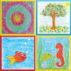 Do Art Gel Stick & Texture Art Kit (art kit)