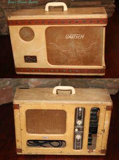 1956 Gretsch Western Cowboy Amp/amplifier | Musical Instruments & Gear, Vintage Musical Instruments, Vintage Guitars & Basses | eBay! #vintageguitars
