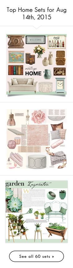 """""""Top Home Sets for Aug 14th, 2015"""" by polyvore ❤ liked on Polyvore featuring interior, interiors, interior design, home, home decor, interior decorating, Newgate, Vintage Playing Cards, Distinctive Designs and vintage"""