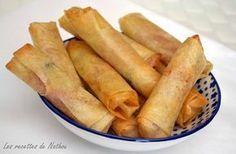 Cigares jambon et mozzarella : la recette facile