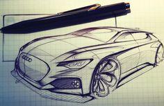 仕事までスケッチ練習 #cardesign#carsketch#car#sketch#practice#automotive#automotivedesign#design#mobility#mobilitydesign#audi#hatchback#transportation#draw#drawing#industrialdesign#product#productdesign by asahi_lab