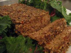 RAW VEGAN RECIPE: Raw nut loaf