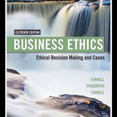 Jual beli Business Ethics: Ethical Decision Making & Cases 11th Edition di Lapak WIDYA ANANDA - adhimasbhre. Menjual Import - Business Ethics Ethical Decision Making Cases 11th Edition by O C Ferrell Author John Fraedrich Author Ferrell Author Paperback 654 pages Publisher Cengage Learning 11 edition January 1 2016 Language English ISBN 10 1305500849 ISBN 13 978 1305500846 Product Dimensions 8 x 1 x 9 9 inches Packed with cases exerc...