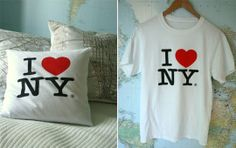 How To:  Make a Pillow from an Old Tee