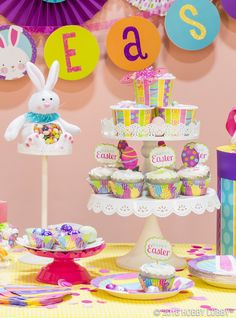 Get egg-stra colorful with your Easter décor this year!