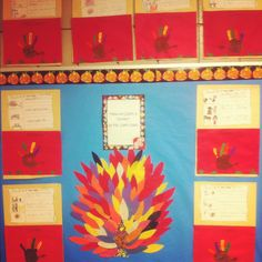 """""""How to cook a turkey"""" how-to writing bulletin board- 1st grade Writing Bulletin Boards, Teaching Tips, Board Ideas, Grade 1, Classroom Ideas, Kindergarten, Projects To Try, Turkey, Thanksgiving"""