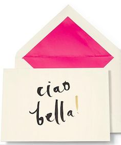 Fun stationery from Kate Spade
