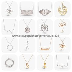 Here is a small selection of the jewelry you will find in our shop. Is there anything you like? If so tag your friends to let them know  #somersault1824