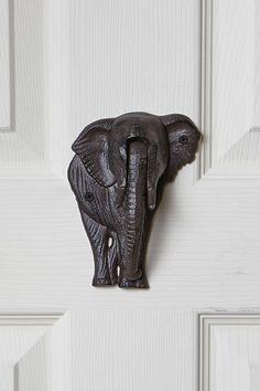 Elephant Door Knocker | Anthropologie