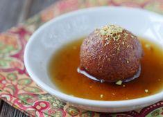 Gluten-Free Gulab Jamun (paleo, nut-free, dairy-free) (My Heart Beets) Nut Free, Dairy Free, Appam Recipe, Indian Cookbook, Fried Fish Recipes, Gulab Jamun, India Food, Food Tasting, Food Festival