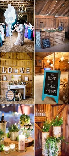 Rustic Farm Barn Wedding Ideas and Theme / http://www.deerpearlflowers.com/rustic-barn-wedding-ideas/