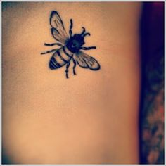 bee tattoo - Google Search                                                                                                                                                     More