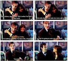 Matt and Jenna.