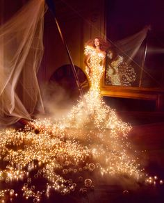 if my wedding dress was made of white Christmas lights, would I still have friends?