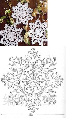 Crochet Knitting Handicraft: Search results for christmas Crochet Diagram, Crochet Motif, Irish Crochet, Crochet Doilies, Crochet Flowers, Knit Crochet, Crochet Patterns, Crochet Snowflake Pattern, Crochet Stars