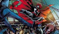 "Batwoman from ""Batman. Detective Comics #7: Anarky"""