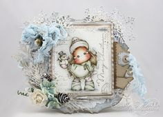 Cards by Camilla: A Christmas Card ~ A lovely Christmas from Magnolia #1