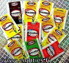les emballages de chewing gum malabar des annees 80.jpg