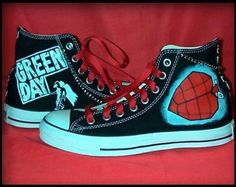 Green Day shoes!!!!L<3VE