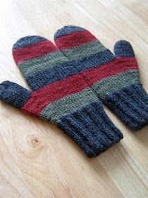 """I'd Rather Be Knitting: """"Oliver"""" Jogless Stipes Hat Mens Hat Knitting Pattern, Knitting Patterns, Knitting For Charity, Hats For Men, Knitting Projects, Mittens, Knitted Hats, Knit Crochet, Amy"""