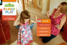 Sesame Street's new app is perfect learning-through-play: a collection of 150 games to play in the real world using household objects, encouraging kids to work together and practise key skills.