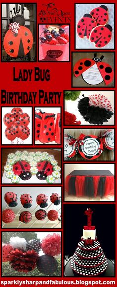 Happy Birthday Day……tooooooooo youuuu! Ok, maybe not you, but perhaps your little one! Lady bugs are SO cute in general, but paired up with your already adorable little one = Cute overload! Ladybugs work well for both girls and boys birthday parties, especially when they are in the 1-3 year old range.  I hope this …